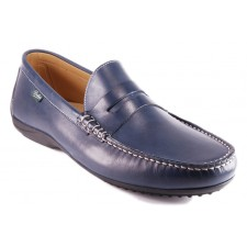 chaussure Paraboot CABRIO Bleu lisse