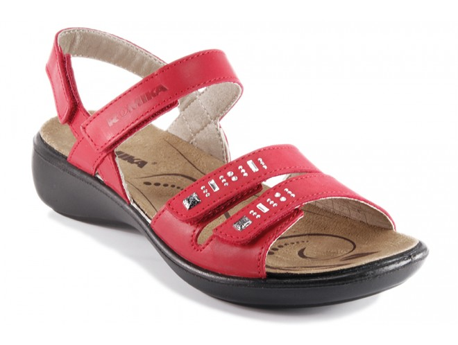 Chaussures Romika Ibiza rouges femme DPycC