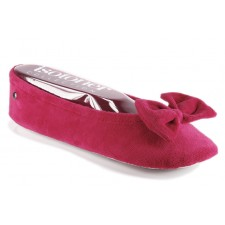 chaussure Isotoner 95811 Rouge