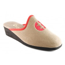 chausson Exquise MINOU Taupe