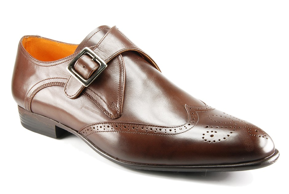 lenny chaussure boucle ambiorix lenny marron brion chausseur. Black Bedroom Furniture Sets. Home Design Ideas